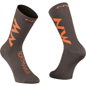 Northwave Extreme Air Fietssokken, anthracite/siena orange